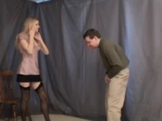 Victoria ballbusting a typical meeting