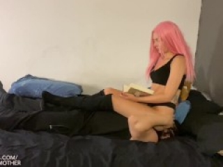 Hard Facesitting IGNORE with Ball Stomping - Mistress Alexis - {HD} (preview)