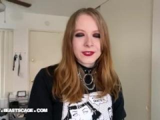 Meet Elodie Lee! - Ballbusting / Femdom Interview w Practice Kicks! FREE CLIP