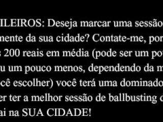 Ballbusting Brasil - Amateur Homemade (Preview 9)