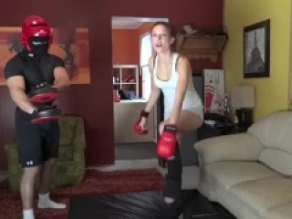 ballbusting self defense