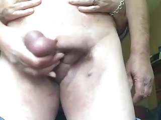 A lady friend wanking me off