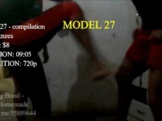 Ballbusting BRAH - Bia and friend ballbusting (Preview model 27)