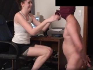 Premature cum ballbusting