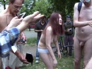 World Naked People in Public Most viewed Video (Naked Bickers)