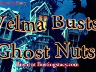 BallbustingStacy is Velma, Ballbusting a Ghost and Squeezes nuts to death with a lemon squeezer!
