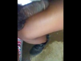 Ballbusting kneeing