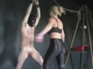 ballbusting by hot mistress