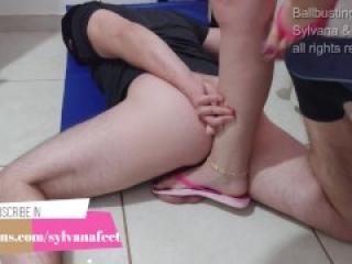 Full weight in balls using flip flop