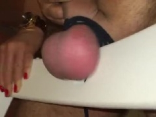Ballbusting with a hammer - Very Cruel ball bashing