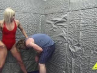 Viper Max Ballbusting/Mixed Wrestling