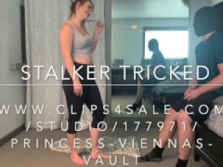 Stalker TRICKED Into Ballbusting