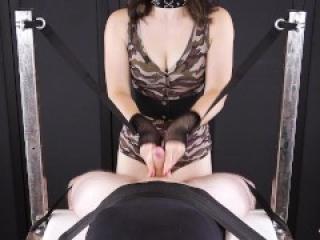 Ballbusting & Handjob Torture for my Slave – Femdom POV | Era