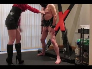 Ballbusting with Boots