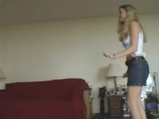 Victoria Ballbusting in different shoes