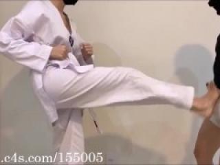 Hard Ballbusting Taekwondo