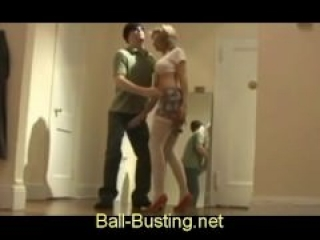 Sexy Ballbusting Blondie