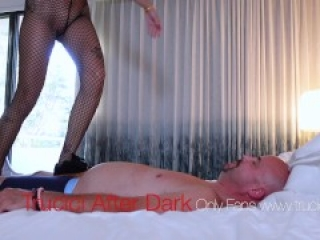 OnlyFans Reality BDSM Trucici AfterDark Mistress Tramples And Ballbusts Her Stupid Bitchboy Slave