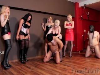 Ballbusting Femmefatalefilms - Smash Hits