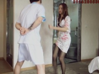 chinese ballbusting is so sexy