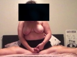 GF first time Ballbust and Cock Tease
