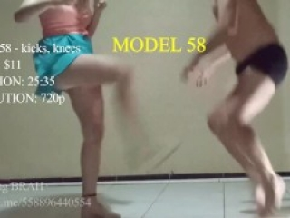 Ballbusting BRAH - Kickboxer trying to pop my balls for money (Preview model 58)