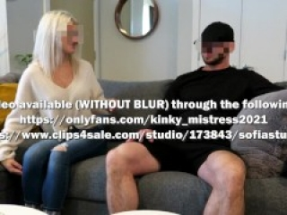Ballbusting Blowjob On a Lost Bet