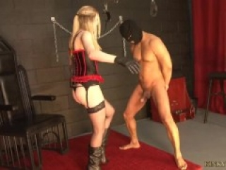 Jessica Jenson,Her First Time Ballbusting