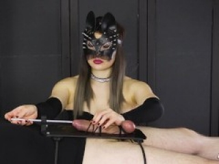 I Tied up His Cock and Fucked His Urethra – Urethral Sounding Handjob   Era