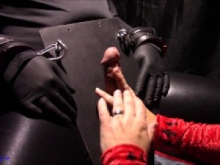 CBT Punch slap and use my mouth to make his cock explode