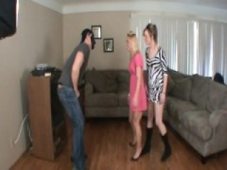 Hannah's First Time Ballbusting