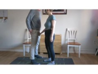 Ball Squeezing Preview | Amateur ballbusting couple