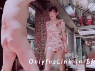 <Onlyfans link in BIO> Mistress ballbusting so hard