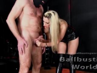 Ballbusting world Nikki