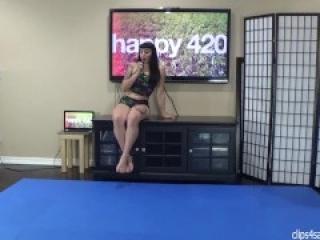 happy 420 ballbusting