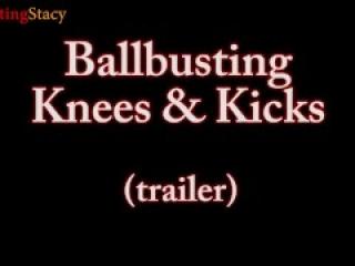 Ballbusting Stacy Kicks and Knees Trailer