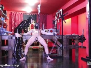 Mistress Iside - BALLBUSTING IN CHAINS