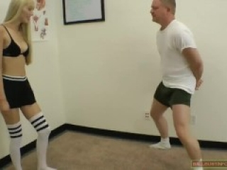 Princess Renee ballbusting